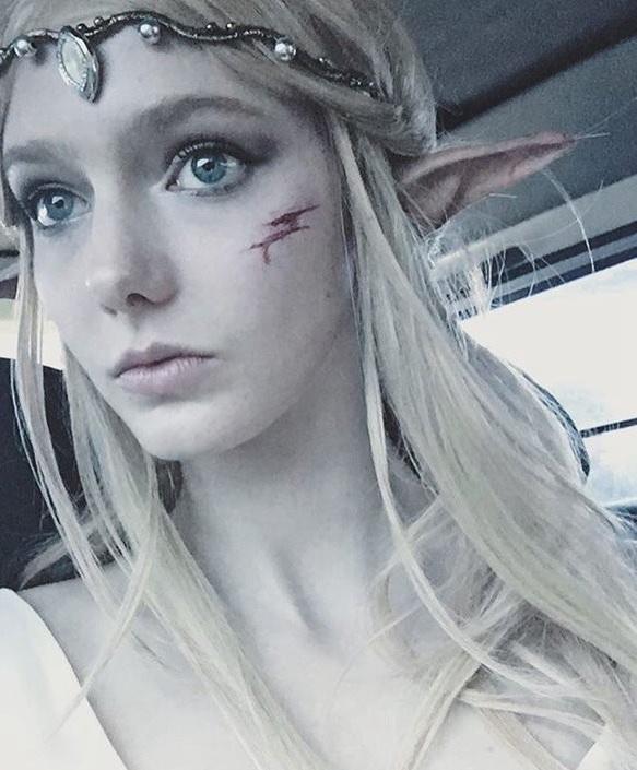17岁加拿大模特Savanna Blade宛如精灵的空灵美女 视觉美图 图3