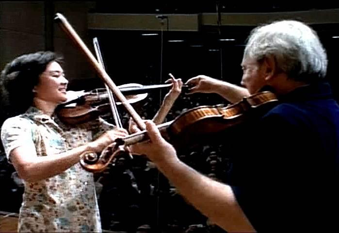 小提琴家唐韵演奏 霍拉舞曲 亨德尔奏鸣曲