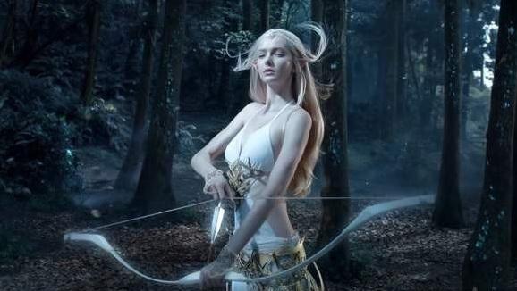 17岁加拿大模特Savanna Blade宛如精灵的空灵美女 视觉美图 图2