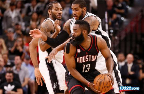 NBA直播:火箭VS马刺