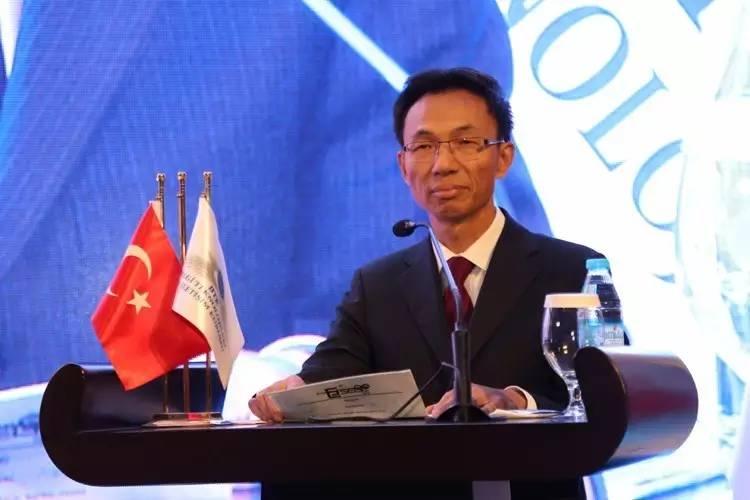 郁红阳大使应邀出席第十一届国际电子通讯管理机构论坛暨土耳其2017年信息与通讯技术峰会并发表致辞
