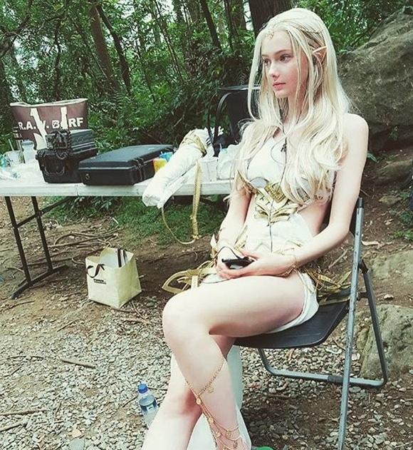 17岁加拿大模特Savanna Blade宛如精灵的空灵美女 视觉美图 图4