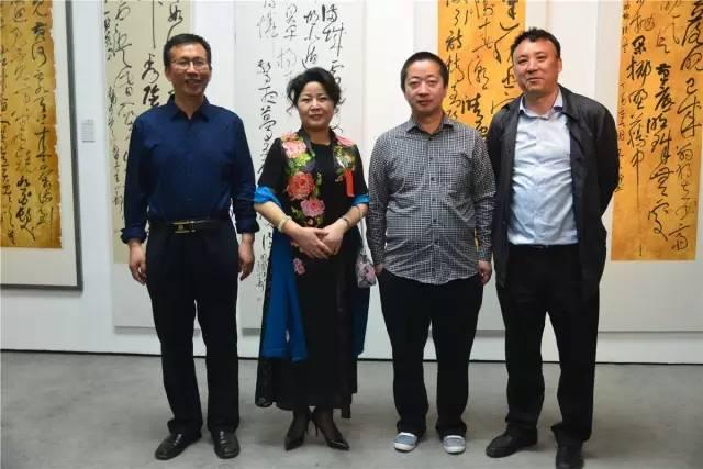 王小静书法作品展在中国国家画院(国展)美术中心盛大