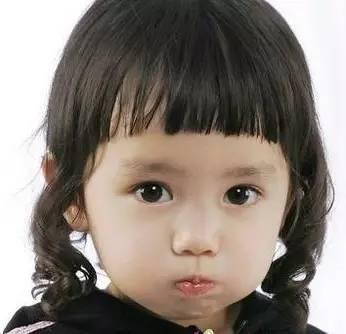 超漂亮小女孩发型图片