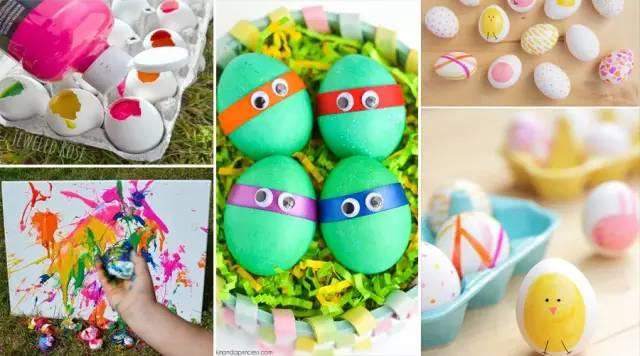 创意手工 | 幼儿园八种鸡蛋绘画玩法!惊呆了!图片