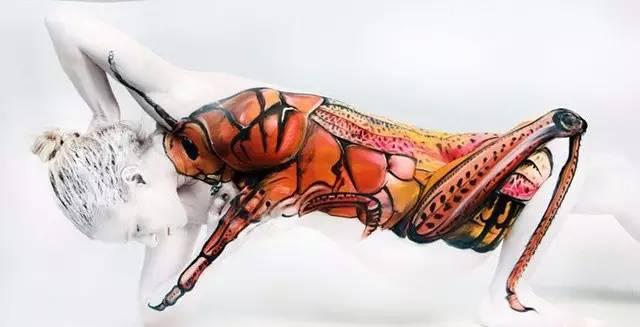人体艺术之扒逼人体_不可思议的人体艺术,惊呆!