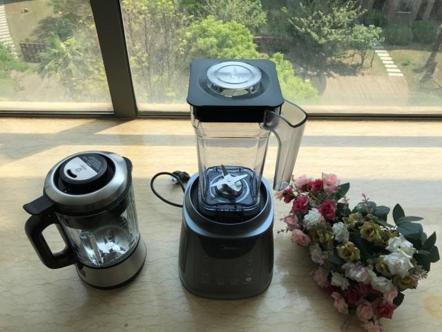 双重防溢美的微压精萃破壁机,美式早餐轻松搞定