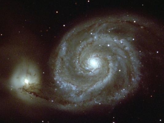 北天猎犬座中的涡状星系