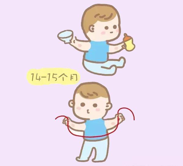 小孩拿勺子吃饭简笔画- 原来1岁后的宝宝,真的好忙