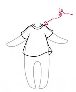 儿童简笔画 服饰画法,裙子鞋子等带你美出天际