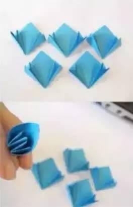 4款漂亮的幼儿园母亲节手工折纸花教程