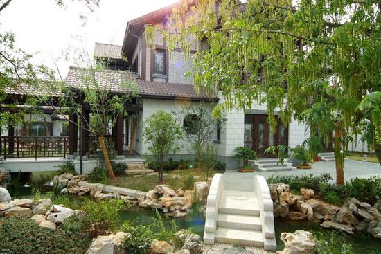 中式私家庭院景观如何设计图片