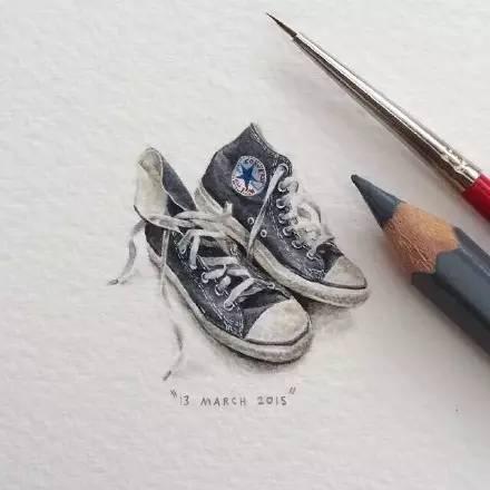 手绘插画 | 栩栩如生的袖珍画
