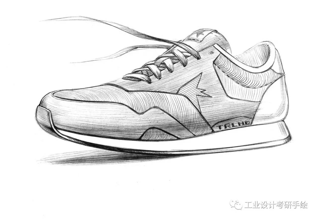 运动鞋设计手稿欣赏