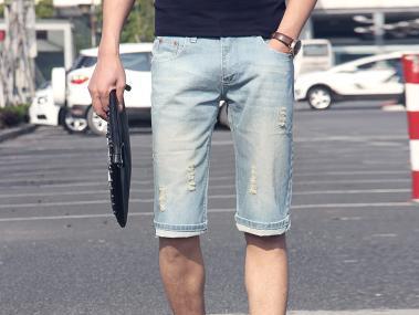潮男夏季必穿搭的六款休闲牛仔裤,你穿对几条?