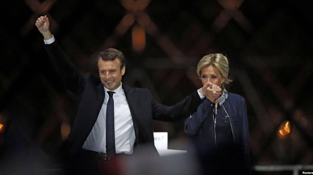 马克龙赢得法国大选  勒庞称继续反全球化-激流网