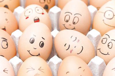 鸡蛋变质:鸡蛋出现这个症状,千万不能①再吃了