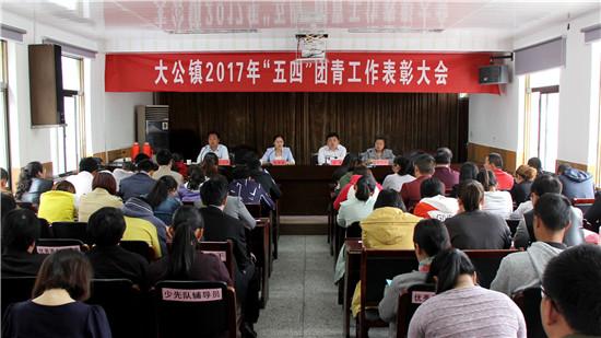 江苏省海安县大公镇召开2017年