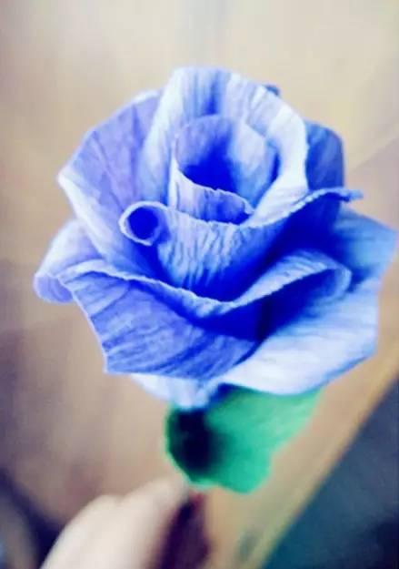 手工折纸玫瑰花