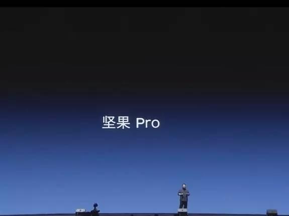 """锤子首发坚果Pro,罗永浩哽咽,""""如果你觉得我们苦,那是不知道我们的野心有多大。"""""""
