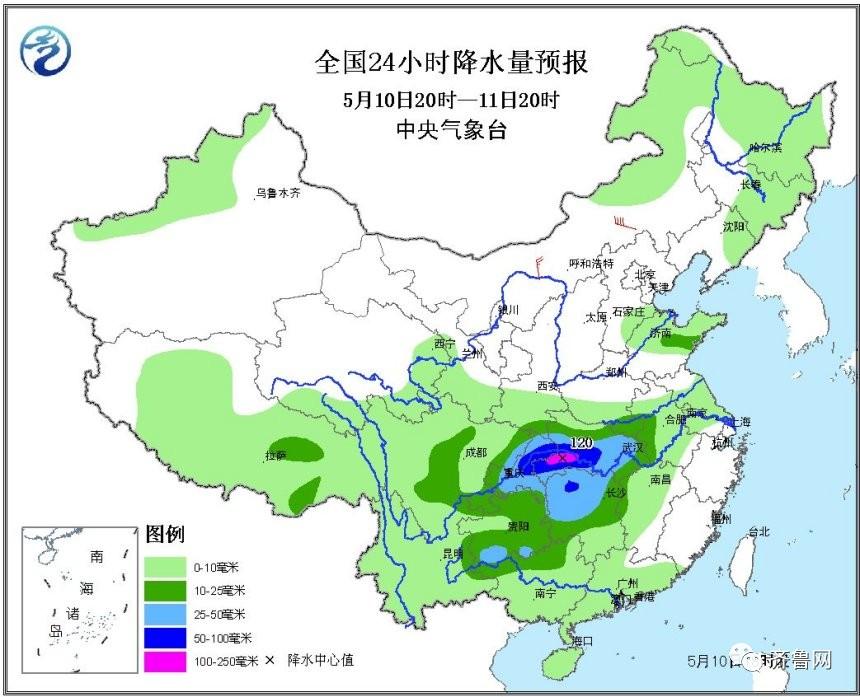 来看省气象台具体天气预报-潍坊突下冰雹 山东中南部局地今夜还有8