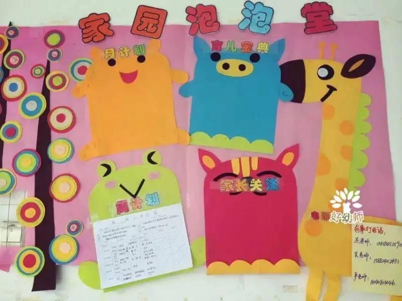 幼儿园家园联系栏布置,供新学期幼师们参考图片