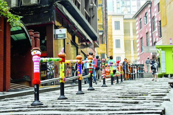 中环石板街图片