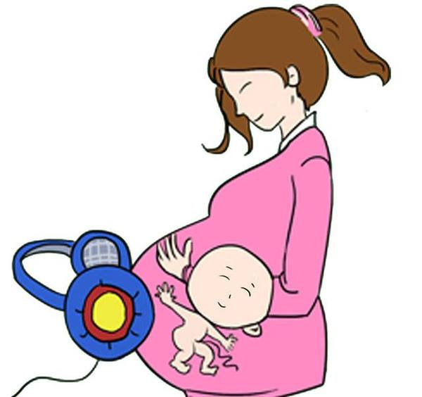胎动越频繁,说明宝宝在肚子里生长得非常顺利,那么宝宝出生之后也会越图片