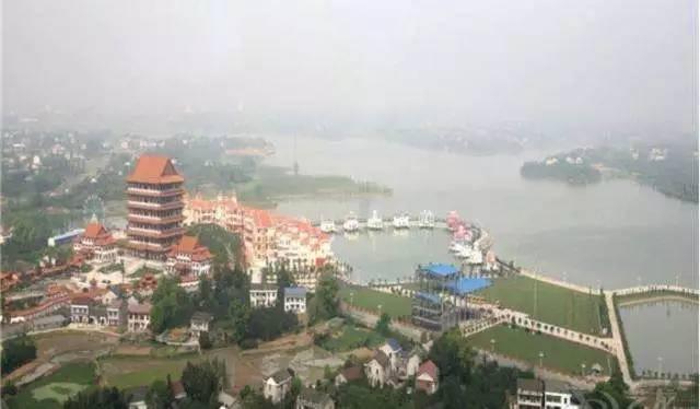 备战旅游节 带你游资阳 皇家湖国际生态旅游度假区