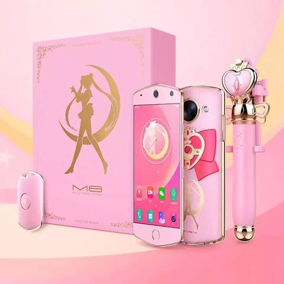 美图m8联名美少女战士限量版手机图片