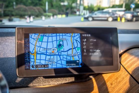 回头率超高 共享汽车上线豪华车型,宝马i3随便开高清图片