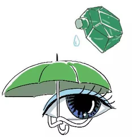 京城护师|眼药水竟然不该滴在眼球上!到底应该怎么滴?图片