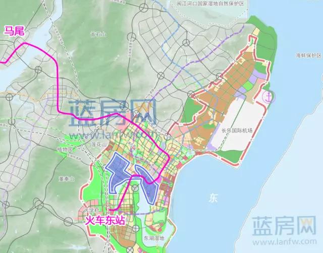 ▲ 新规划方案-马尾地铁已纳入滨海新城轨道线 最快或明年动建图片