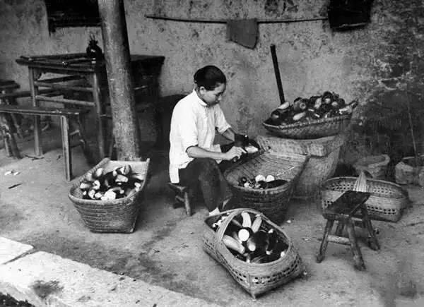 布织布手工制作茄子