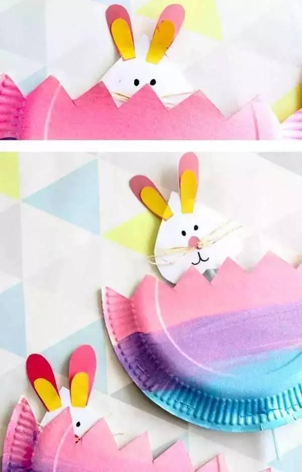 幼儿园亲子手工之废物利用 好玩的纸盘创意万分