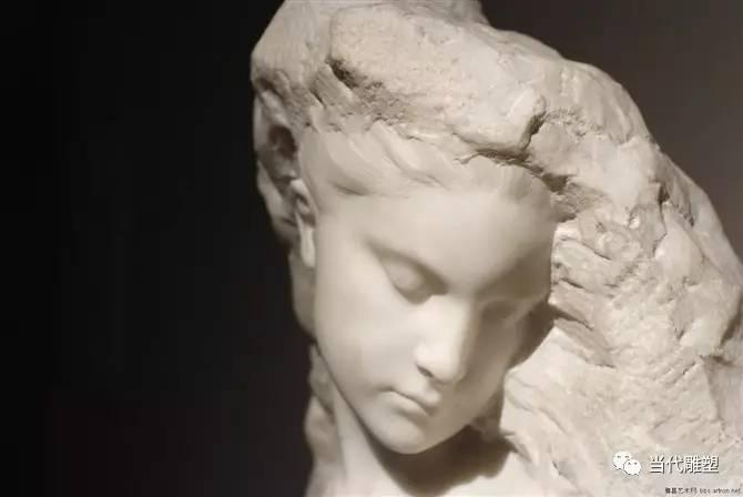 汉白玉裸体人体雕塑肖像