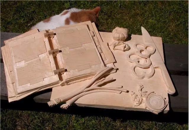 简单木雕图片大全