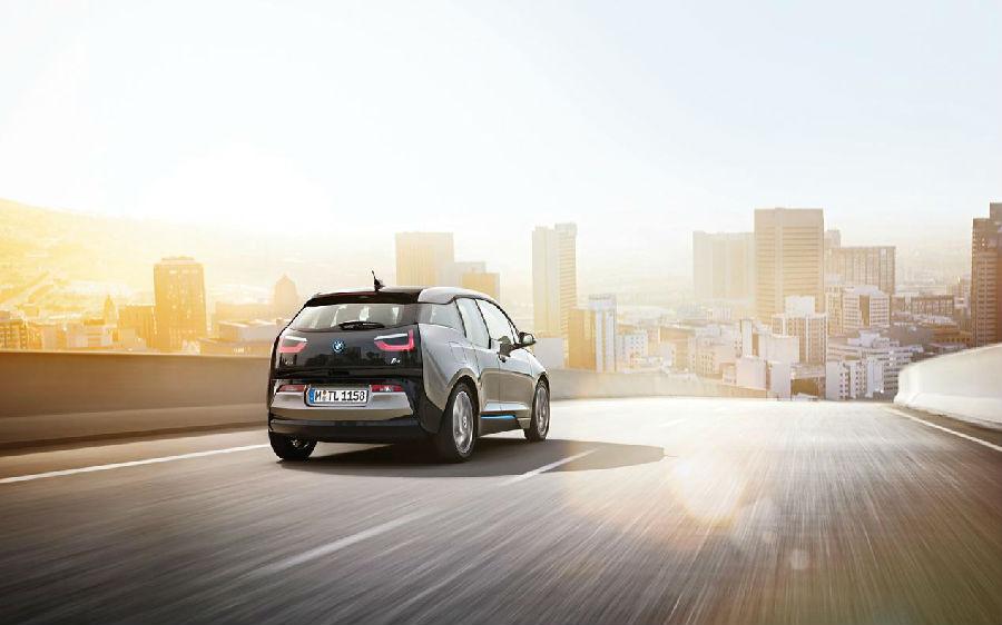 宝马i3,让共享汽车成为一种时尚高清图片