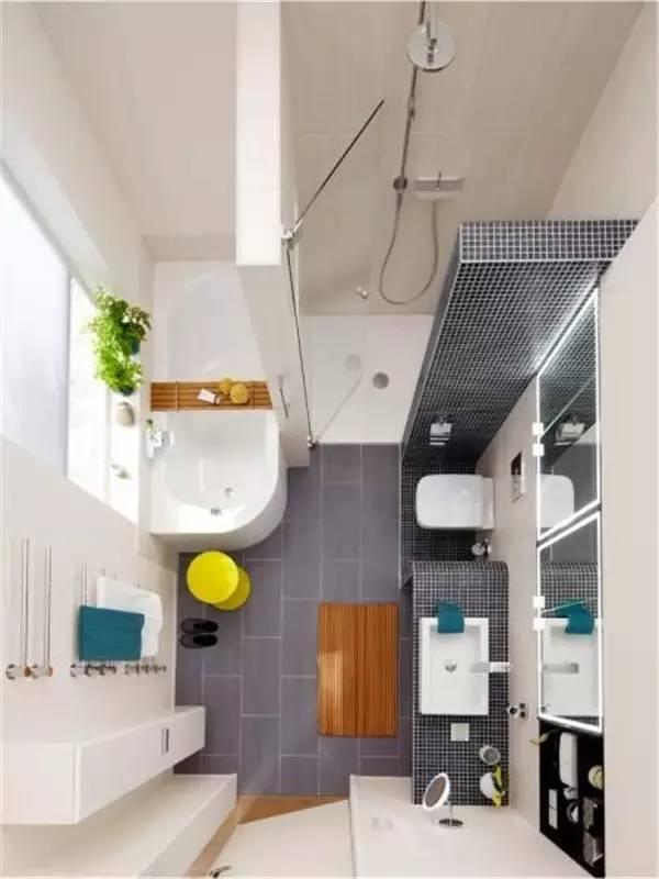卫生间太小,应该怎么装得好看又好用?看完这些,我后悔自家装错了!