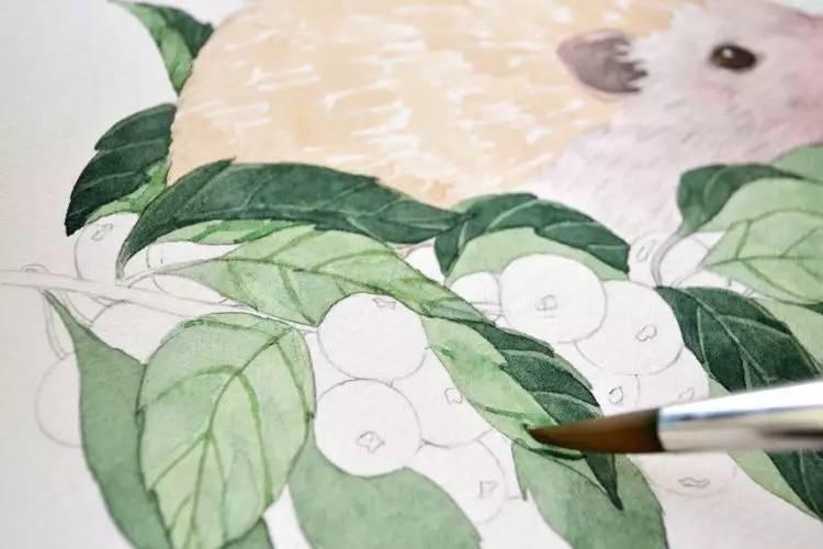手工种子贴画图鹅-画画的你们真的会用画笔么 最全画 / 熊猫教你学画画(ID:UK_