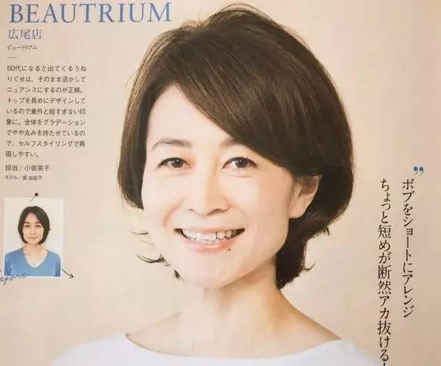 可以把脸周围和脖子附近的头发剪得清爽些,然后把发顶烫一下.