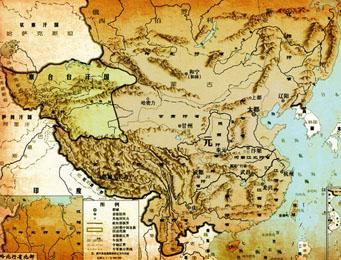中国版图最大的时候是唐朝吗
