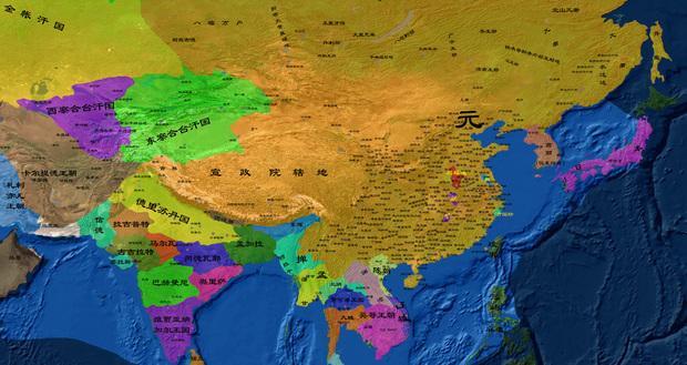 中国历史版图最大的时期, 竟然是可以忽略的元朝图片