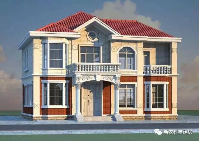 心推荐,20款经济型农村别墅图纸,造价25万内