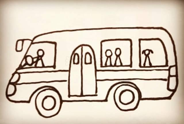 幼儿园交通工具简笔画大全