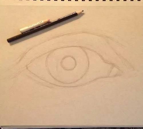 彩铅笔画出超逼真眼睛 附步骤图图片
