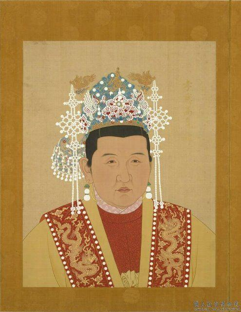 明太祖朱元璋的发妻马皇后.
