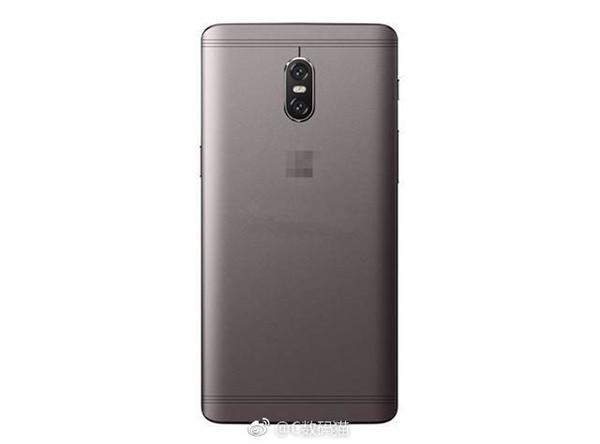 一加手机5背壳照曝光:金属机身,微缝天线+双摄