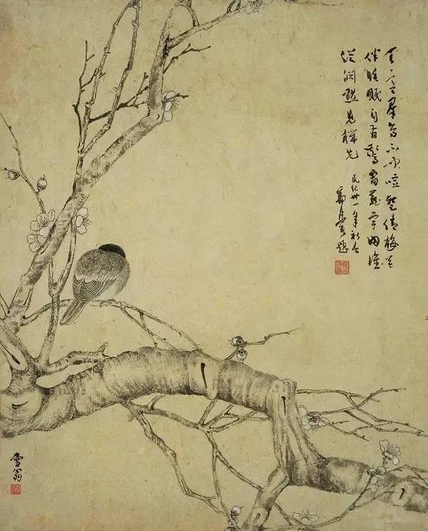 花鸟画怎么画,怎么赏 陈之佛的构图 设色有秘诀