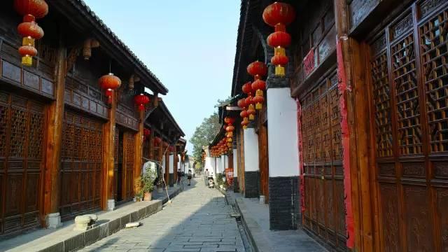 汉中的水墨古镇——西乡骆家坝